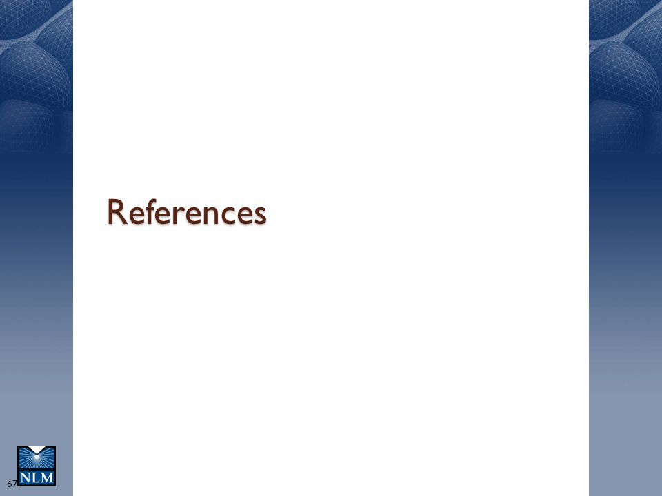References 67