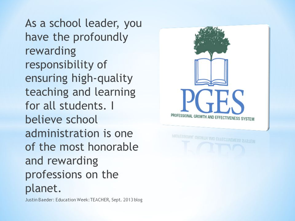 As a school leader, you have the profoundly rewarding responsibility of ensuring high-quality teaching and learning for all students. I believe school