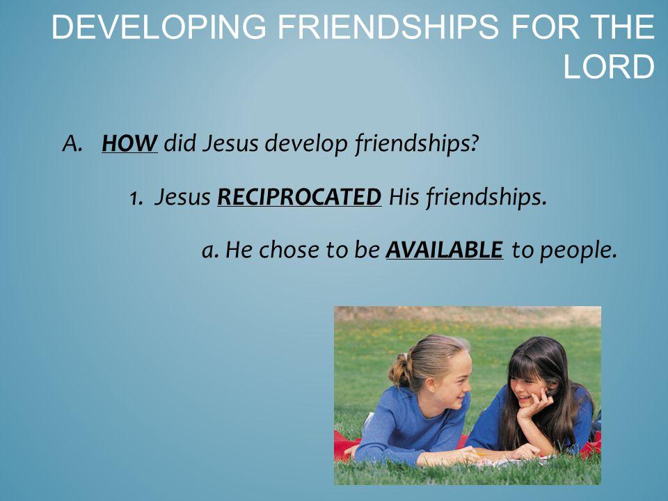 2.Jesus was …a friend of tax collectors and SINNERS (Matt 11:19).