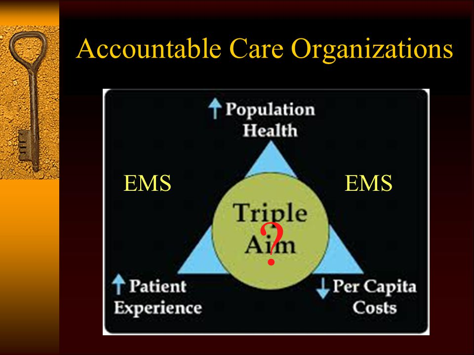 Accountable Care Organizations EMS ?
