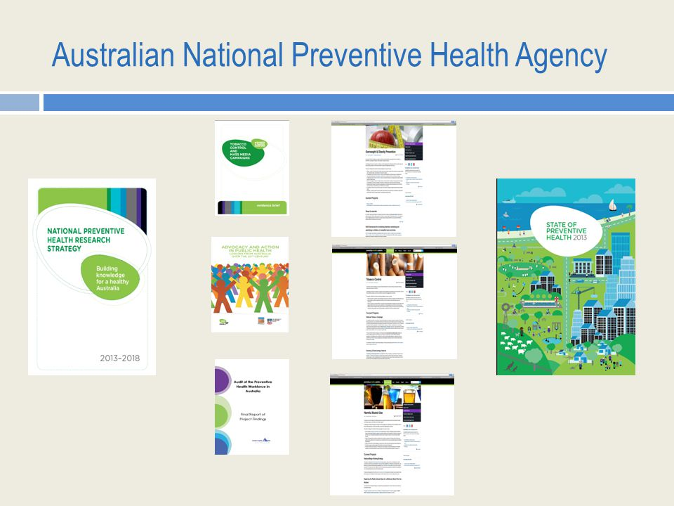 Australian National Preventive Health Agency
