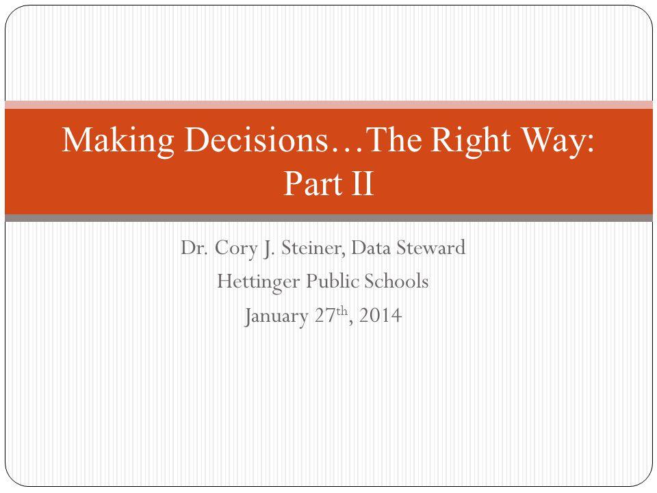 Dr. Cory J.