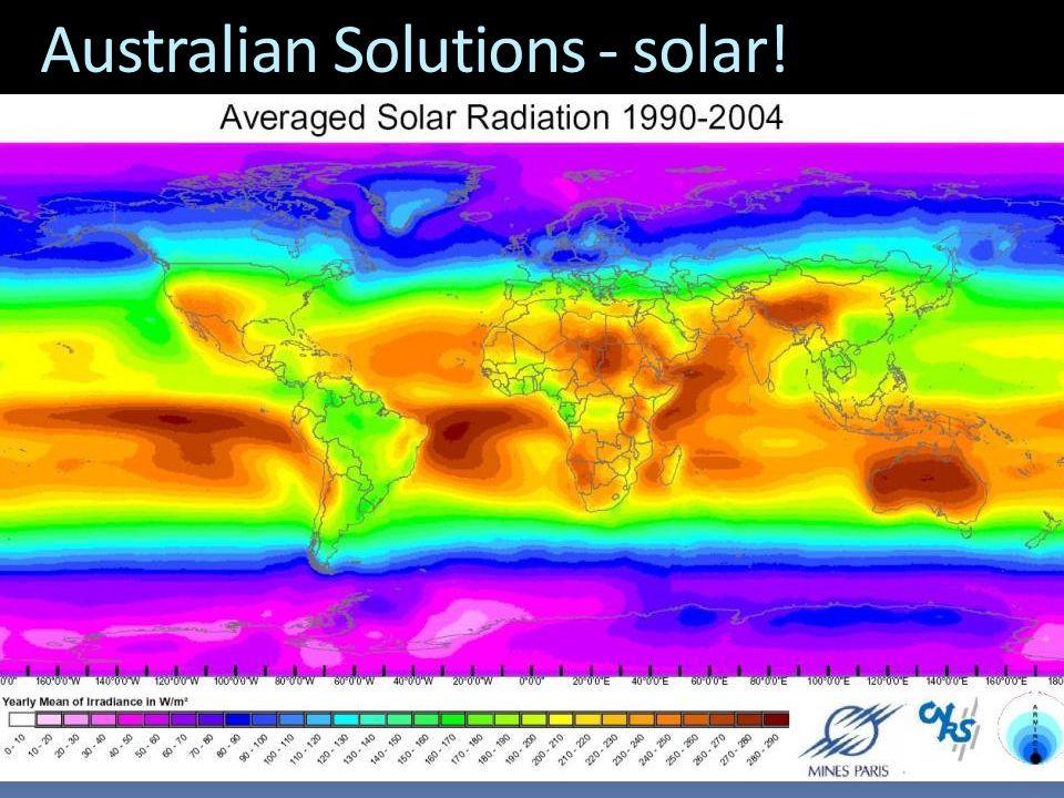 Australian Solutions - solar!