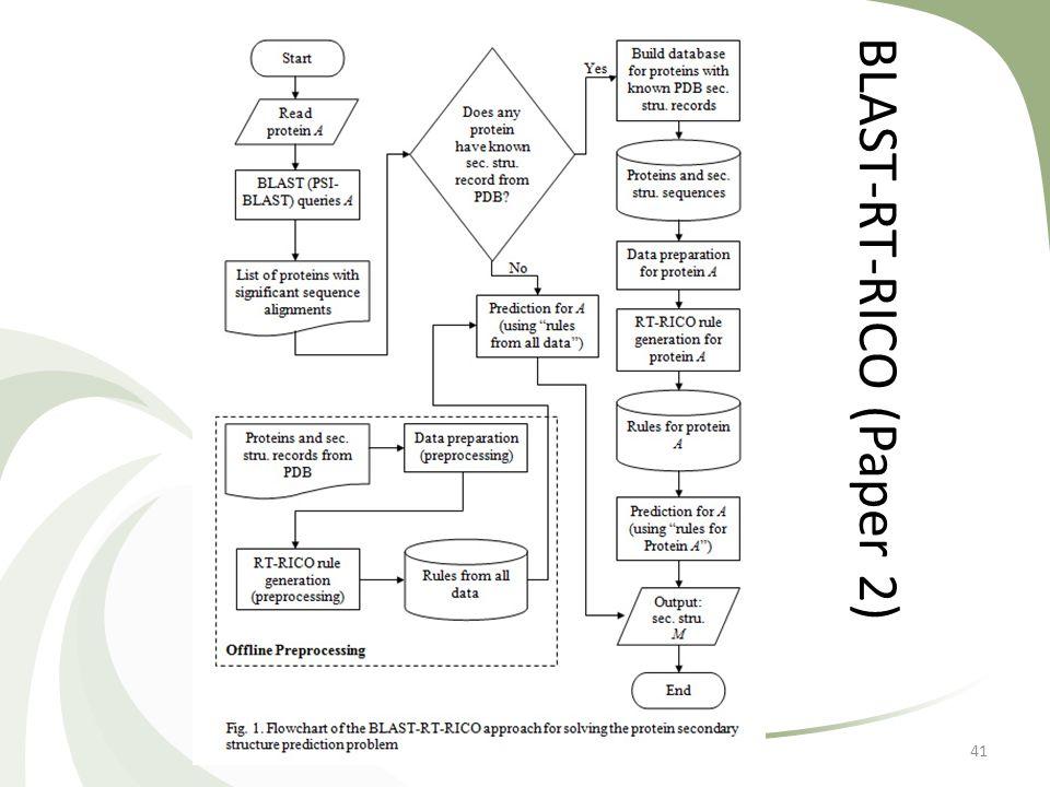 BLAST-RT-RICO (Paper 2) 41