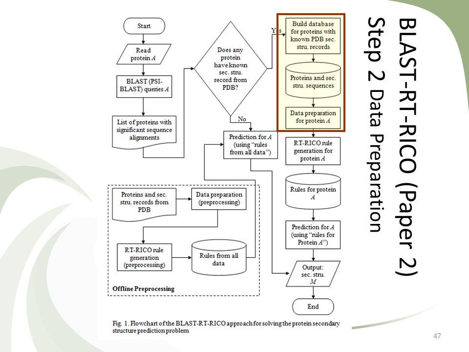 BLAST-RT-RICO (Paper 2)Step 2 Data Preparation 47