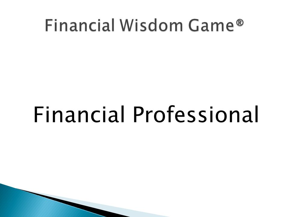 Financial Professional