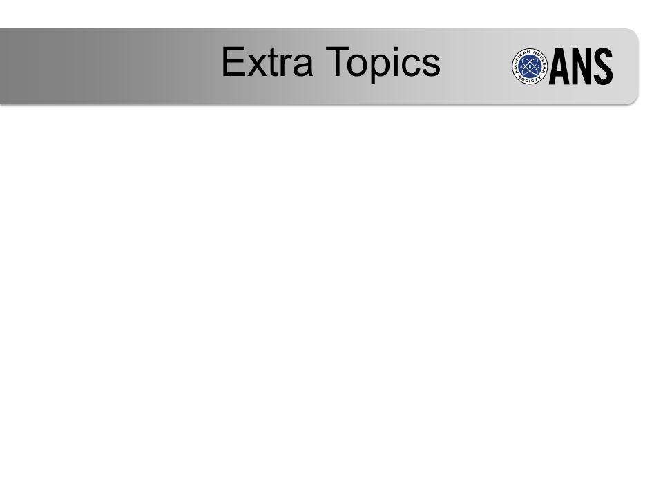 Extra Topics