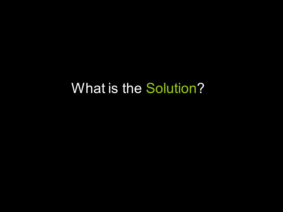 A SOLUTION NEEDS TO BE…  Proven over time  Affordable/Cost Neutral  Reputable by Medical studies  Non-pharmaceutical on-surgical