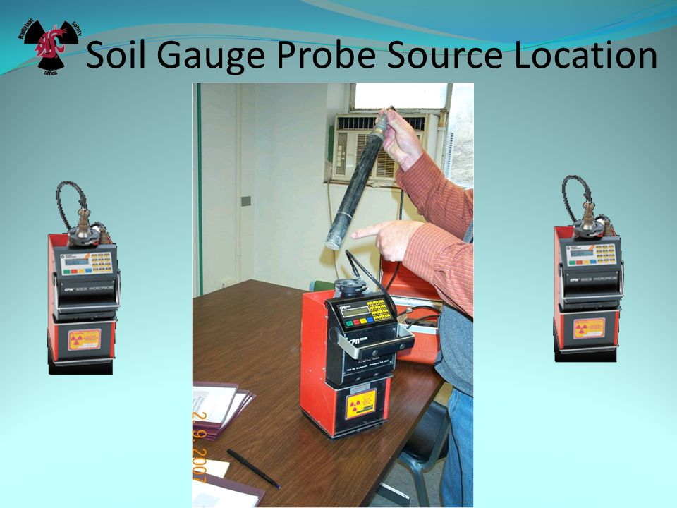 Soil Gauge Transport Box Must Have These Labels.