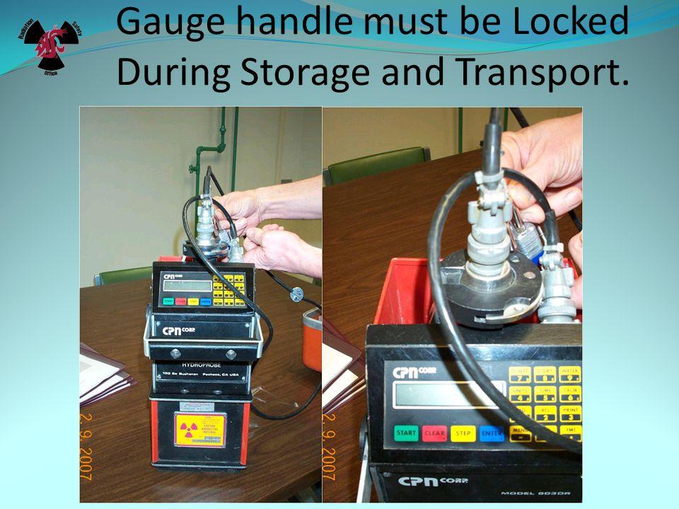 Emergency Procedures.Damage to Sealed Radioactive Source Holder.