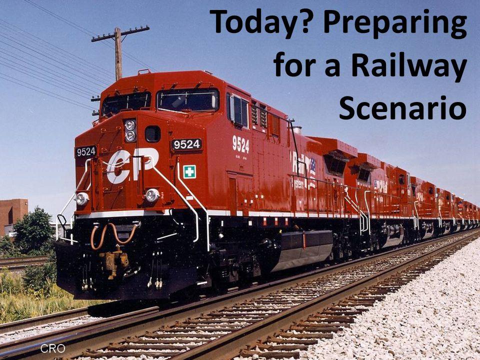 Today Preparing for a Railway Scenario