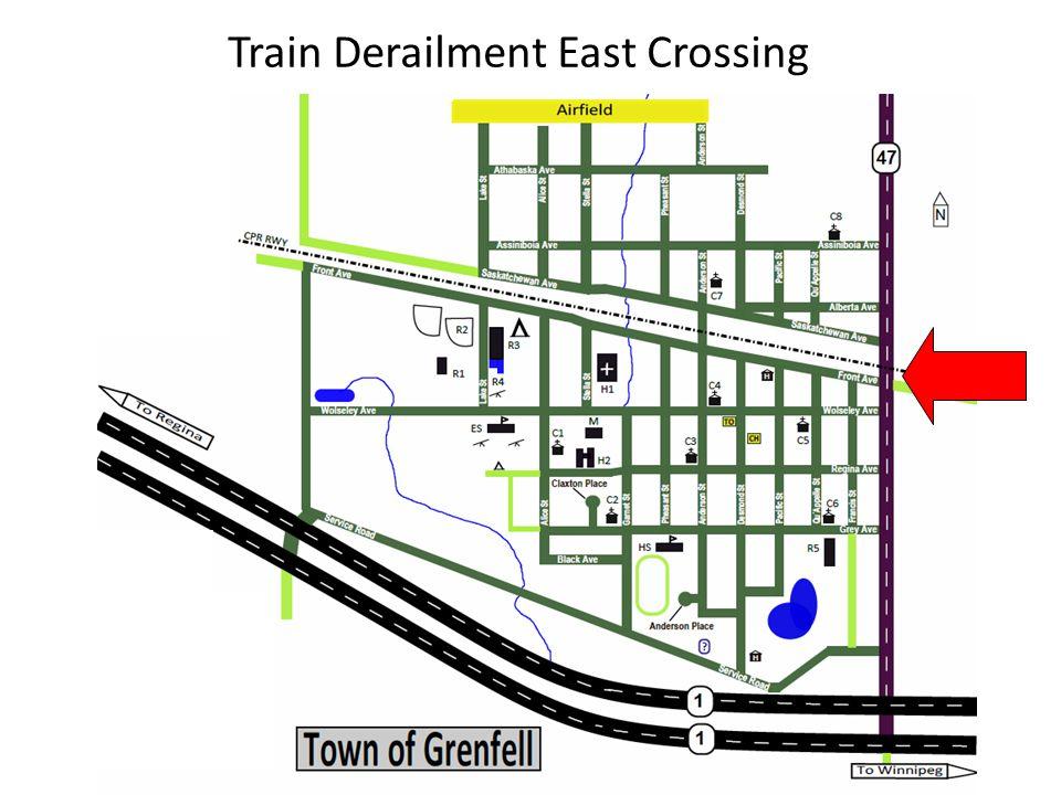 Train Derailment East Crossing