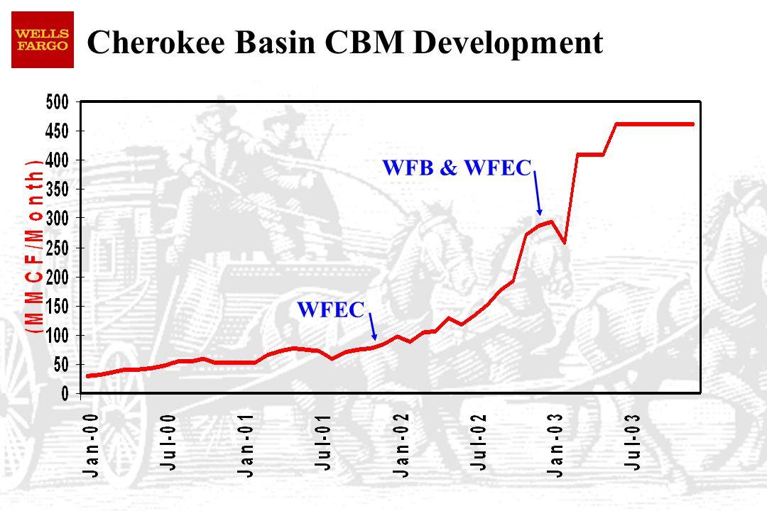 Cherokee Basin CBM Development WFEC WFB & WFEC