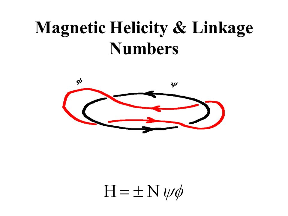Magnetic Helicity & Linkage Numbers