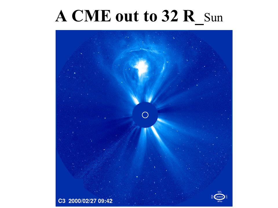 A CME out to 32 R_ Sun
