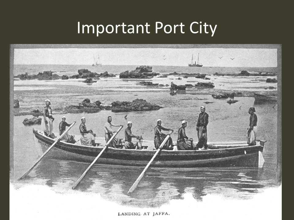 Important Port City