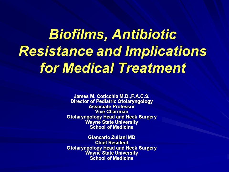 Host Immune Response & Biofilms Ward & Colleagues; J.