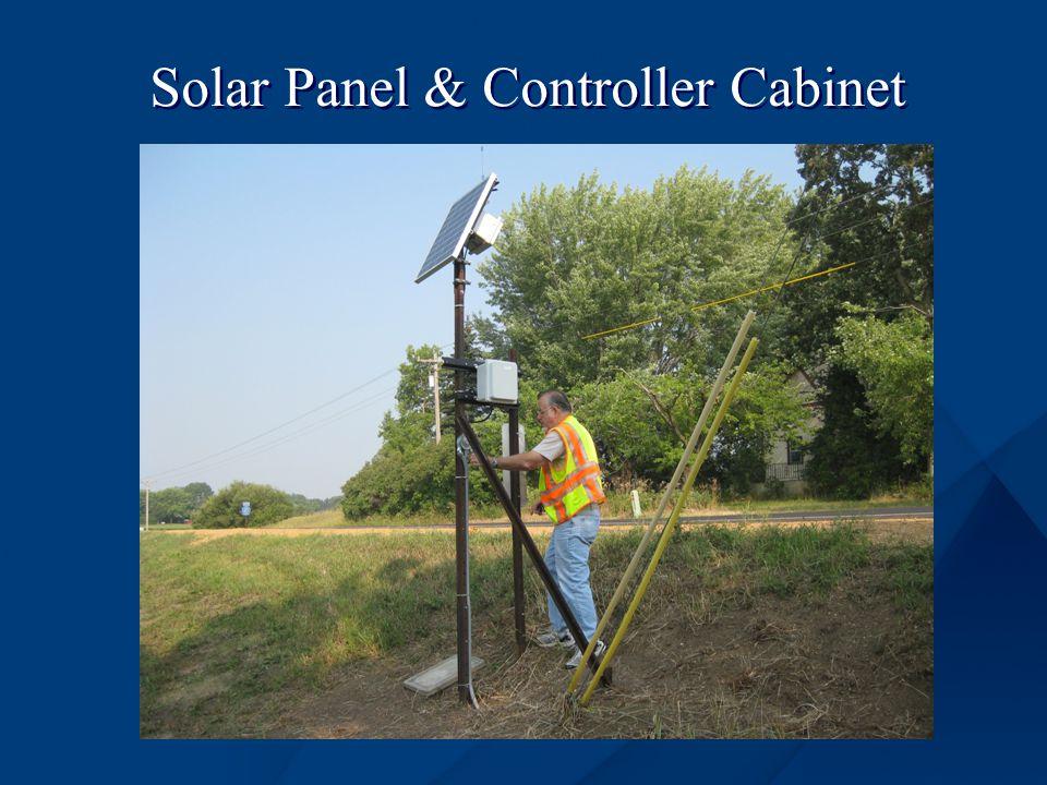 Solar Panel & Controller Cabinet