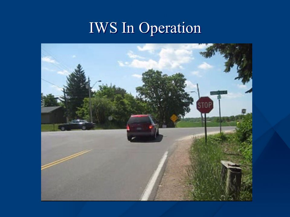 IWS In Operation