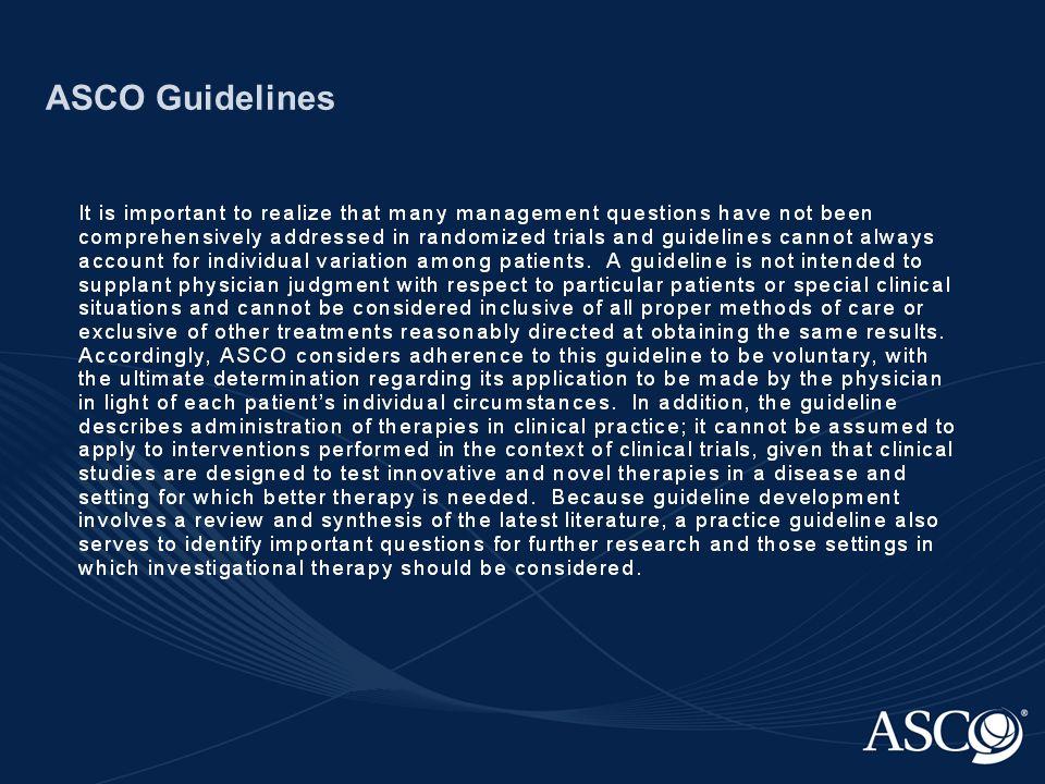 ASCO Guidelines