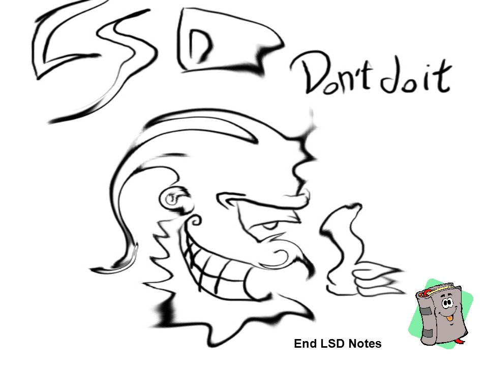 End LSD Notes