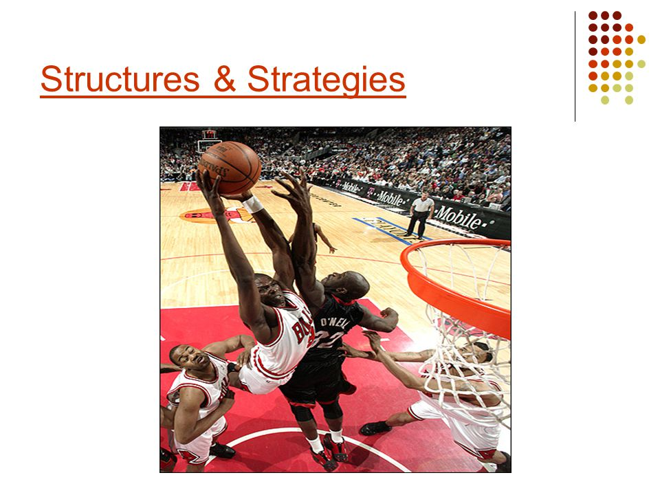 Structures are the designs or formations which teams use in different activities.