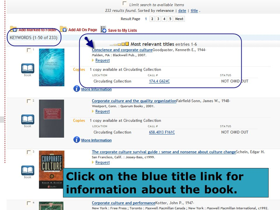 Click on the blue title link for information about the book.