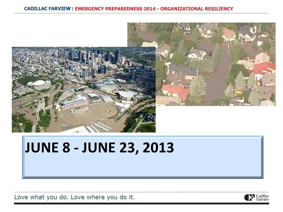 JUNE 8 - JUNE 23, 2013