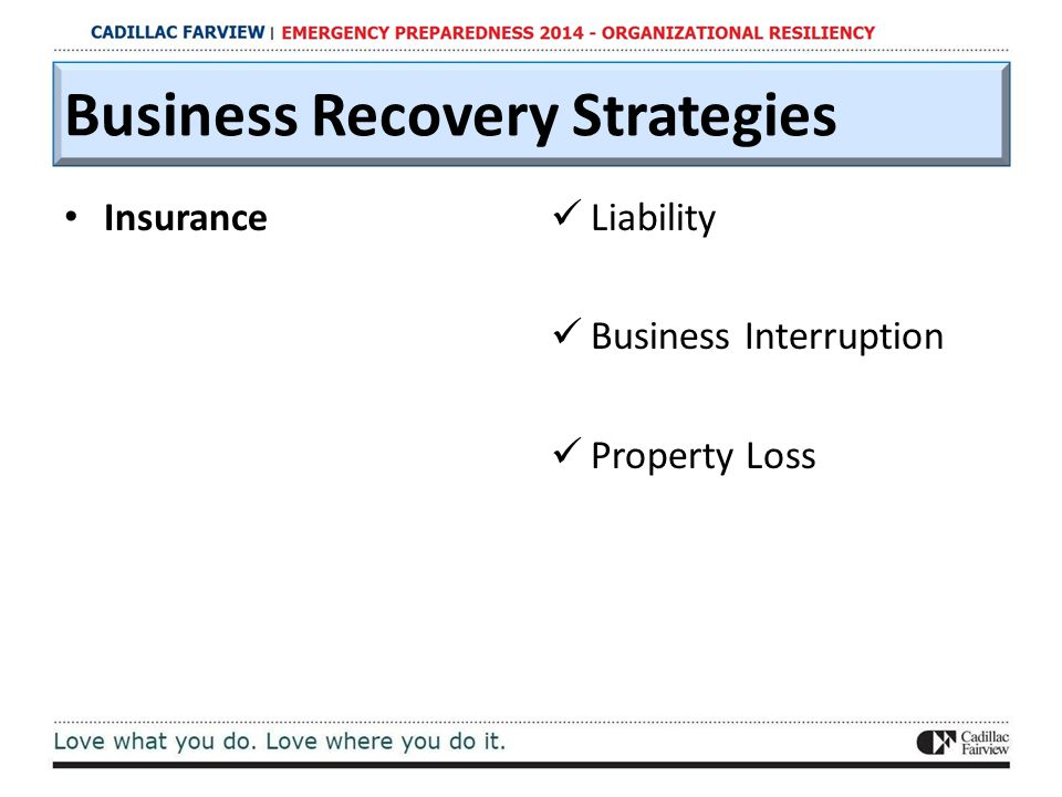 Insurance Liability Business Interruption Property Loss