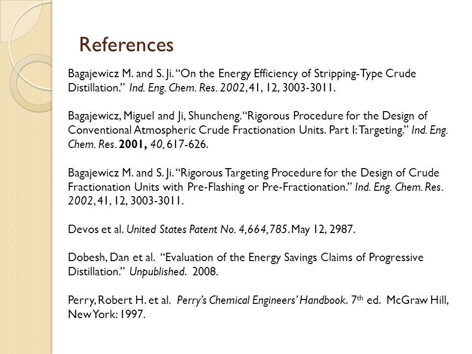 References Bagajewicz M. and S. Ji.