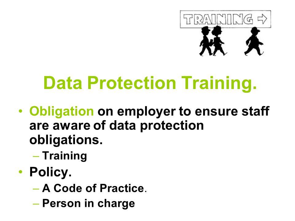 Data Protection Training.