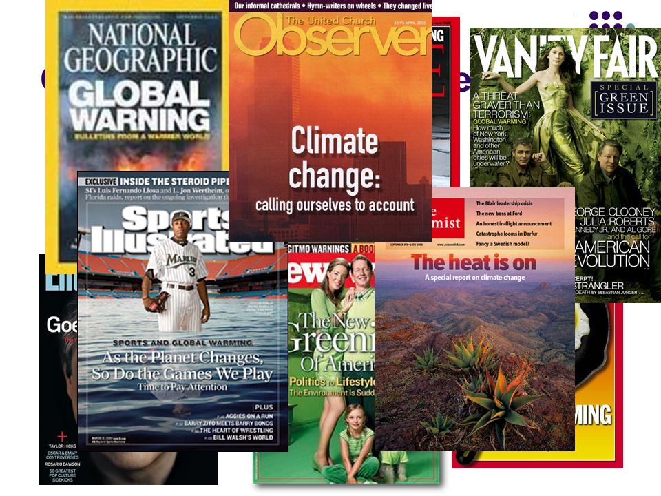 Climate Change in the News