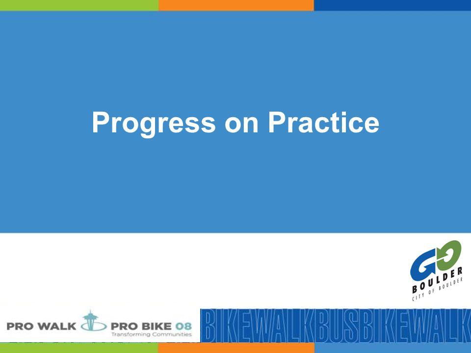 46 Progress on Practice