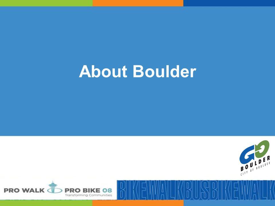 6 About Boulder