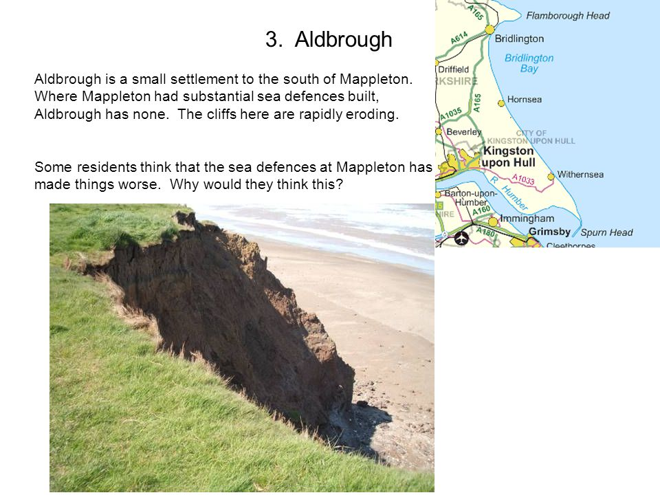 3. Aldbrough Aldbrough is a small settlement to the south of Mappleton.