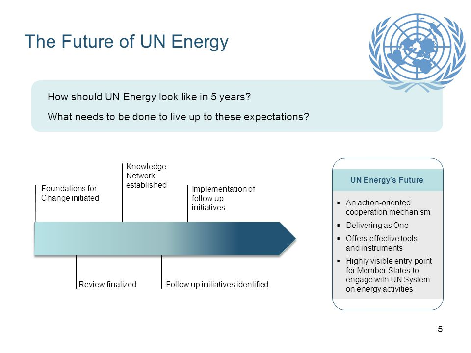 6 UN SG Advisory Group on Energy and Climate Change Group of 20 high level representatives from multilateral organizations and private sector met during one year Two key goals (adopted by UN-Energy): 1.Ensure universal energy access to modern energy services by 2030 2.Reduce global energy intensity by 40% by 2030