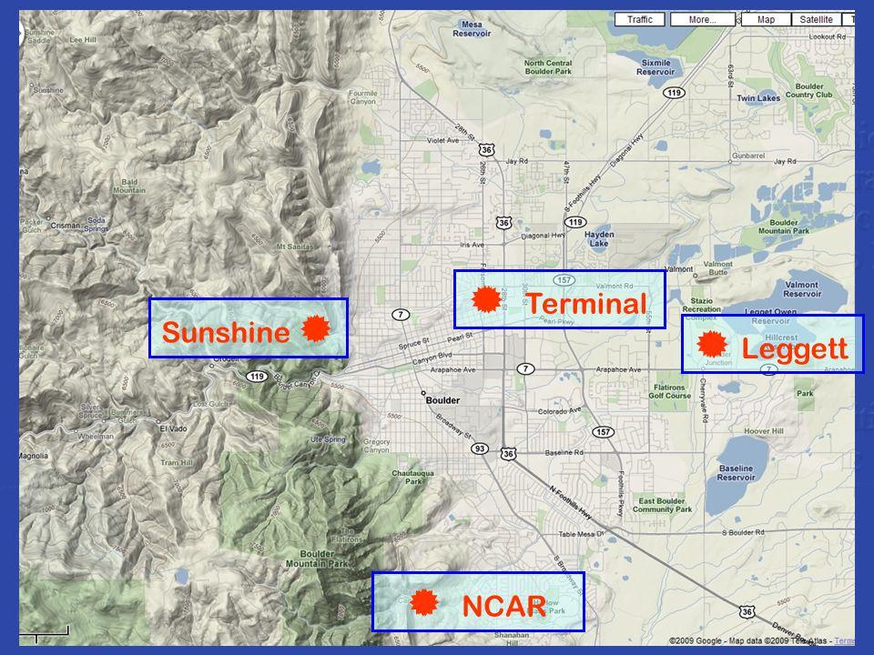 Sunshine   NCAR  Leggett  Terminal    