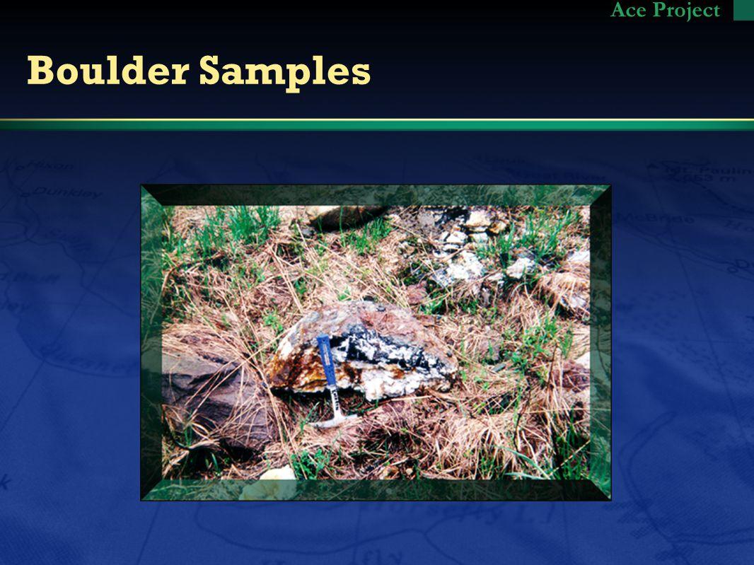 Boulder Samples Ace Project
