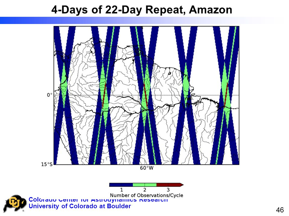 University of Colorado at Boulder Colorado Center for Astrodynamics Research 46 4-Days of 22-Day Repeat, Amazon