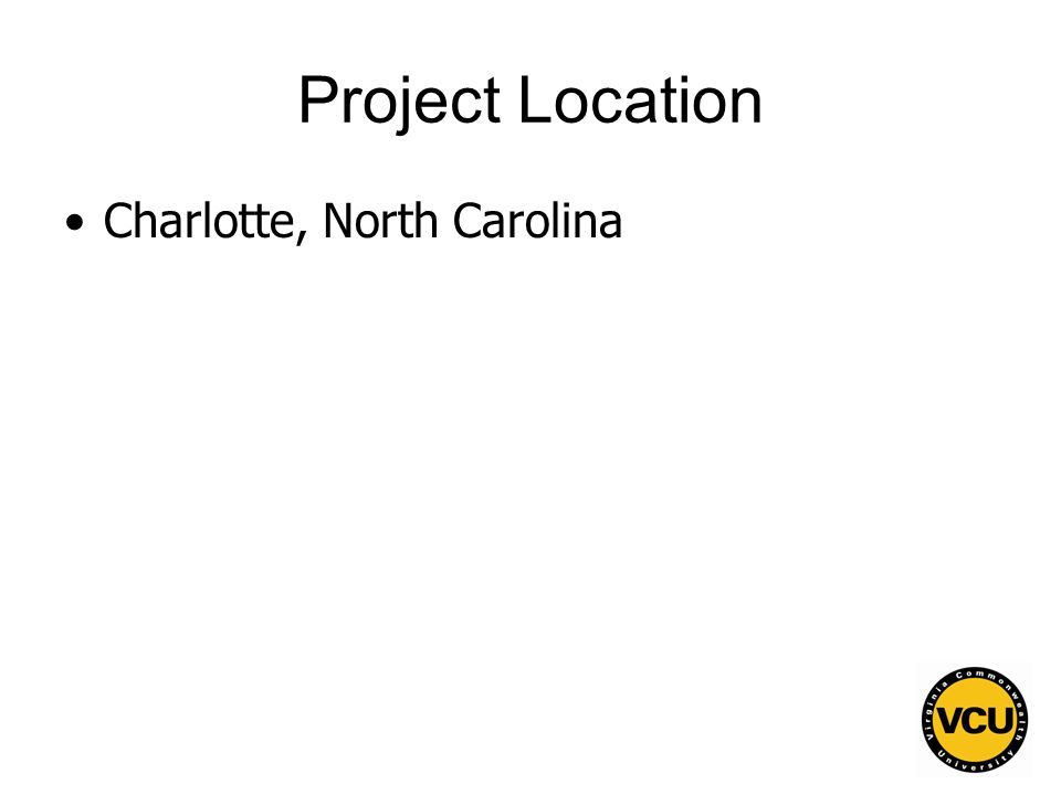 106 Project Location Charlotte, North Carolina