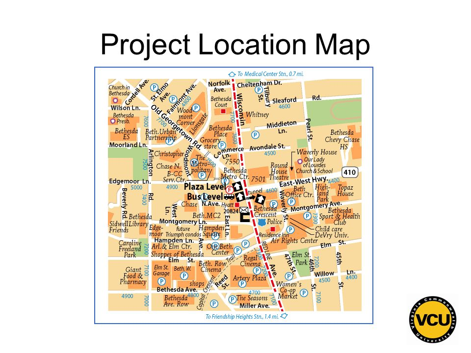 129 Project Location Map