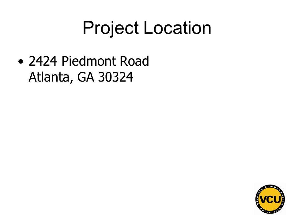 135 Project Location 2424 Piedmont Road Atlanta, GA 30324