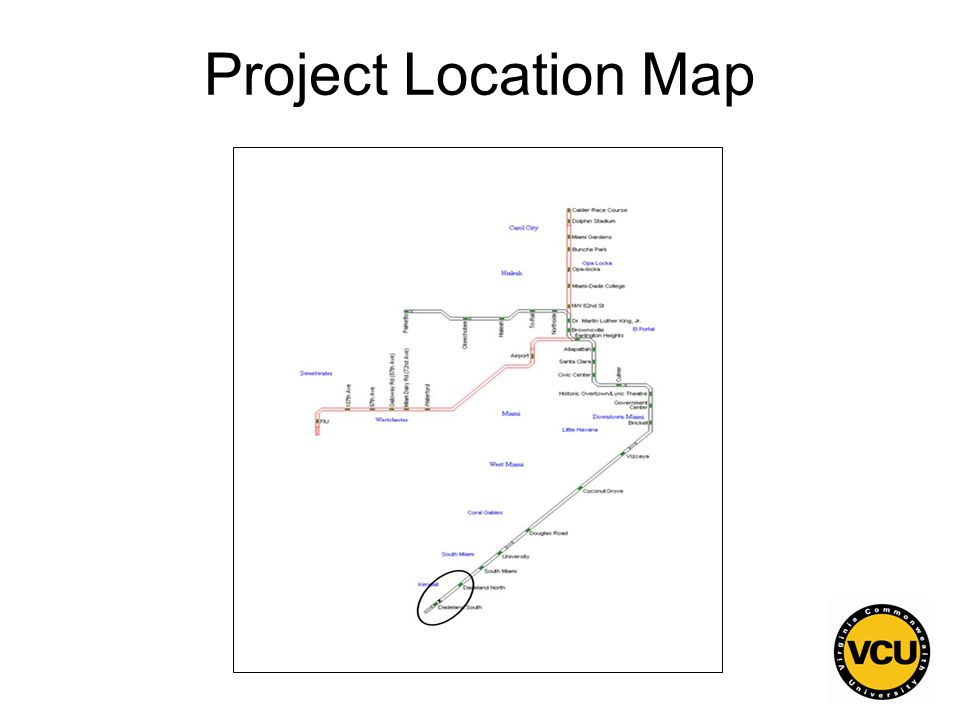 142 Project Location Map