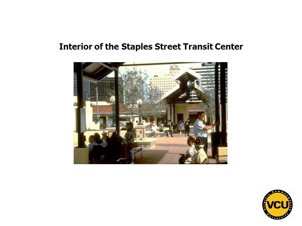 15 Interior of the Staples Street Transit Center