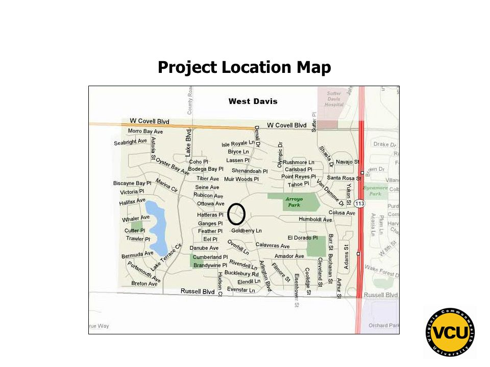 50 Project Location Map