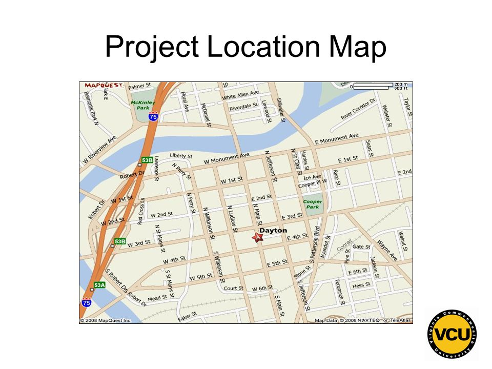 57 Project Location Map