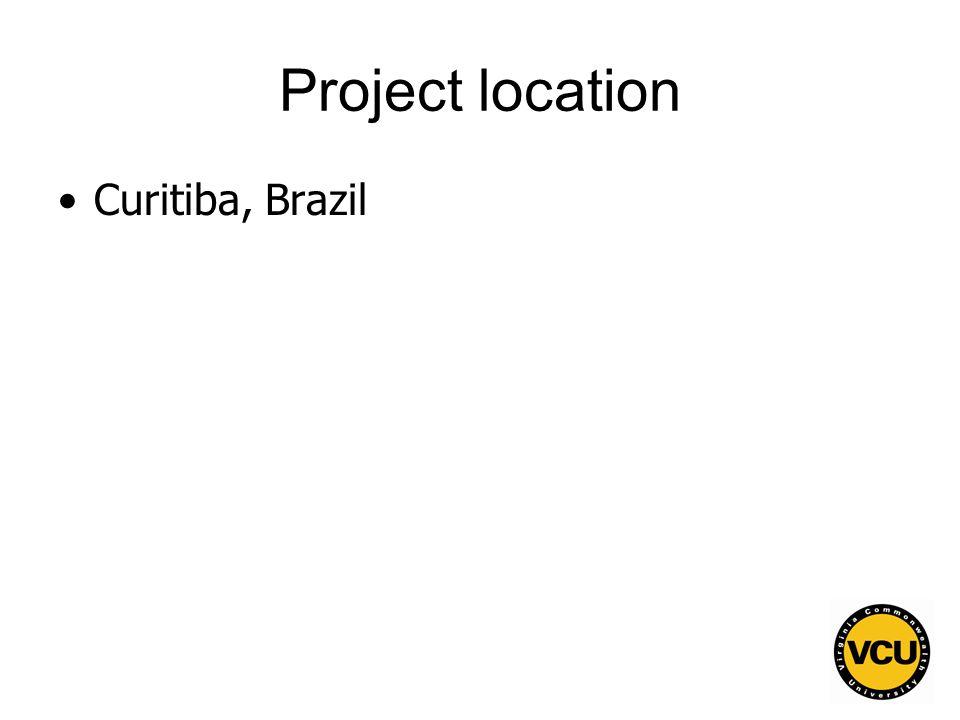 76 Project location Curitiba, Brazil