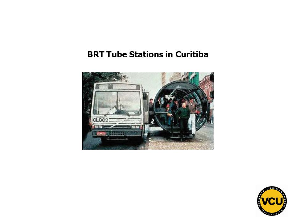 80 BRT Tube Stations in Curitiba