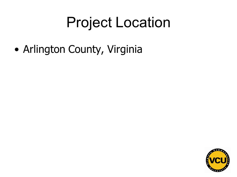 98 Project Location Arlington County, Virginia