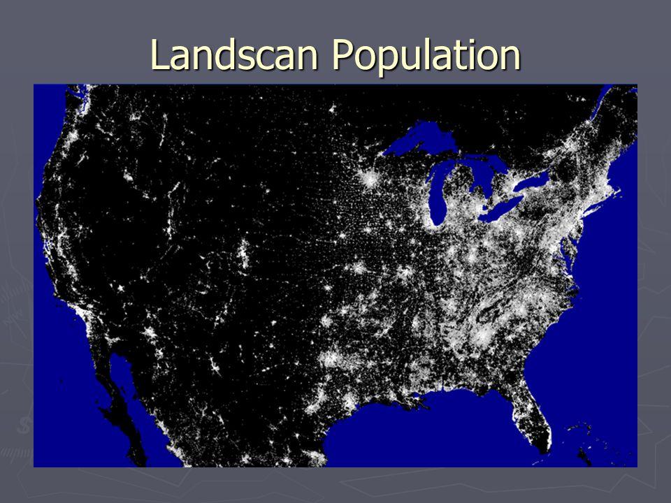 Landscan Population
